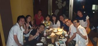 <活動報告>女性リーダー:川ちゃん⑧卒業飲み会🍻