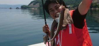 【開催報告】部長のボート出航!まさかのエソ祭り。