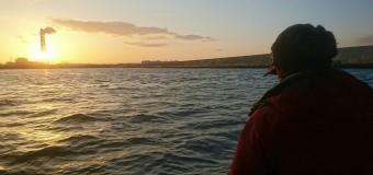 名古屋港で釣り納め