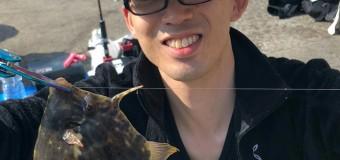 ⑧釣り部イベント開催、秋の五目釣りを堪能、絶品!カワハギの刺身