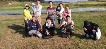 <活動報告>【第60回マルハチ会】⑧農業体験&哲平さんを囲んで座談会