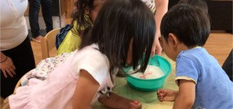【⑧子育て相談部】小麦粉粘土で遊ぼう!