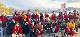 【第3回ワカサギ釣り大会】釣って楽しい、食べて美味しいレンタルボートワカサギ釣行【犬山市入鹿池】